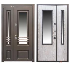 Дверь входная металлическая серии Чикаго Glass