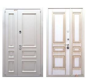 Дверь входная металлическая серии Чикаго White