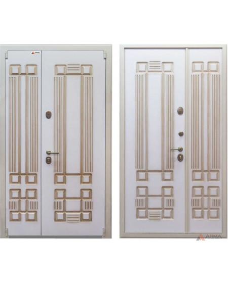 Дверь входная металлическая серии Легенда White