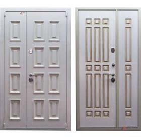 Дверь входная металлическая серии Домино White