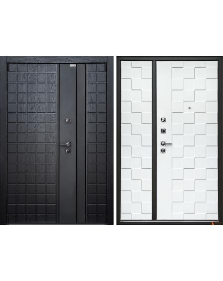 Дверь входная металлическая Quadro Двустворка Crit