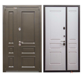 Дверь входная металлическая серии Чикаго (распашная)