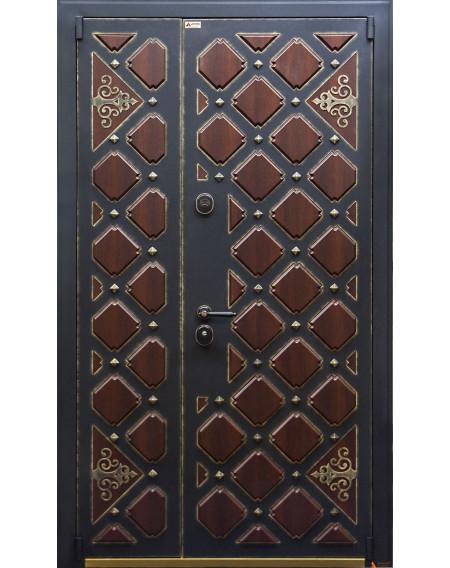 Дверь входная металлическая Сундук Wood