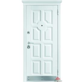 Дверь входная металлическая М707 Белый супермат
