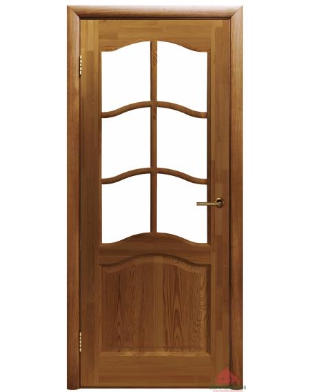 Дверь межкомнатная Модель №7 тон 10% ПО