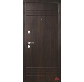 Дверь входная металлическая М37 Орех темный