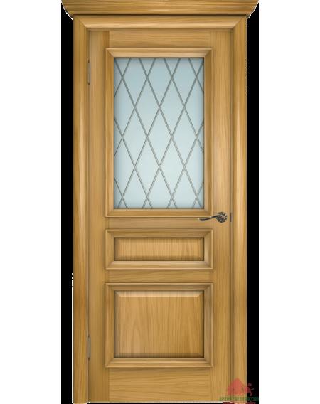 Дверь межкомнатная Вена-2 дуб натуральный ПО