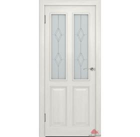 Дверь межкомнатная Ницца белый воск ПО