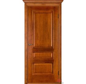 Дверь межкомнатная Вена орех-коньяк ПГ