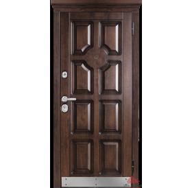 Дверь входная металлическая М707/2 Дуб темный