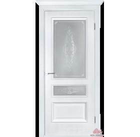Дверь межкомнатная Вена белый ясень ПО