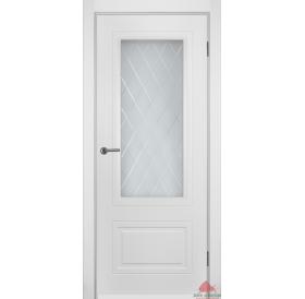 Дверь межкомнатная Мальта белая эмаль ПО