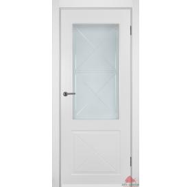 Дверь межкомнатная Лондон белая эмаль ПО