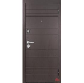 Дверь входная металлическая М701/1 Дуб английский
