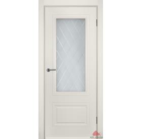 Дверь межкомнатная Мальта слоновая кость ПО
