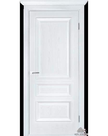 Дверь межкомнатная Вена белый ясень ПГ