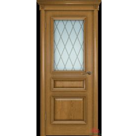 Дверь межкомнатная Вена-2 каштан ПО