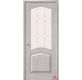 Дверь межкомнатная Модель №7 белый воск ПО