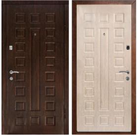 Входная металлическая дверь Дверной Континент Люкс (Венге / Дуб беленый)