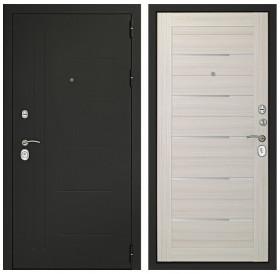 Входная металлическая дверь Дверной Континент Сити-С 3К (Дуб белёный)