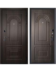 Входная дверь Дверной Континент Флоренция (Темный орех / Темный орех)
