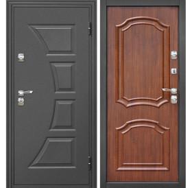 Входная металлическая дверь Дверной Континент Парус (Орех)