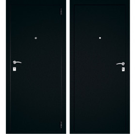 Входная металлическая дверь Дверной Континент Багратион (Металл / Металл)