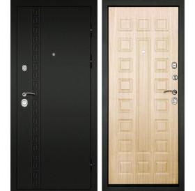 Входная металлическая дверь Дверной Континент Сити 3К (Беленый дуб)