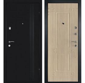 Входная металлическая дверь Дверной Континент Лайн (Дуб беленый)