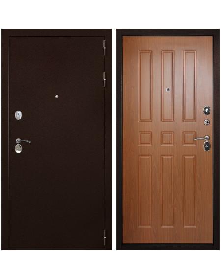 Входная металлическая дверь Дверной Континент Гарант 100 (Орех)