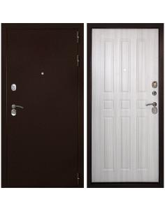Входная металлическая дверь Дверной Континент Гарант 100 (Дуб беленый)